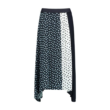 Taifun Spot Skirt Blue  - Click to view a larger image