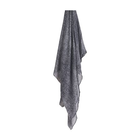 Sandwich Soft Scarf Grey  - Click to view a larger image