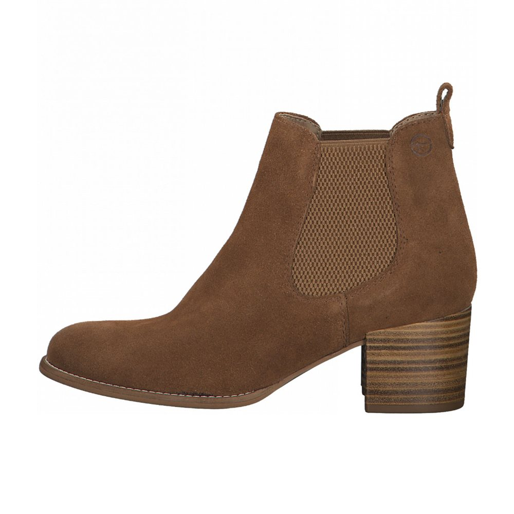 Tamaris Zoe Chelsea Boot Tan 1