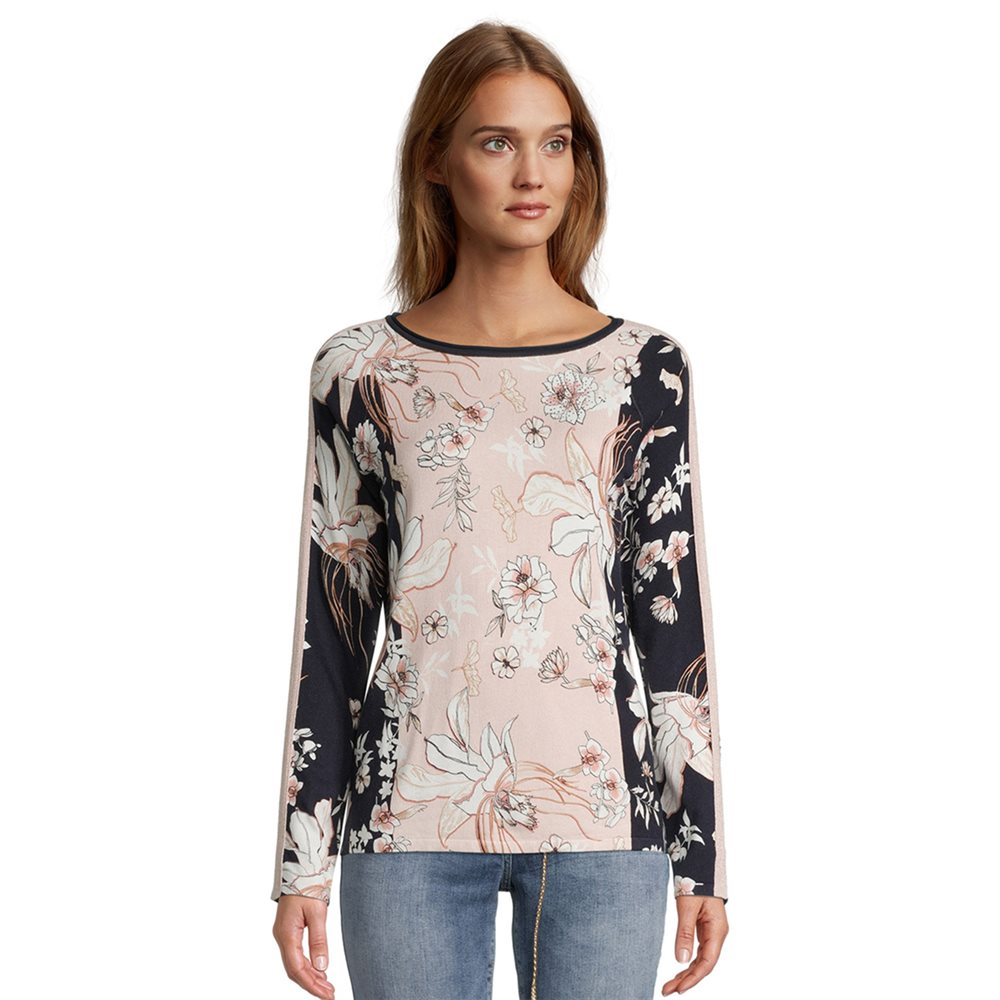 Betty Barclay Floral Print Jumper Pink 1